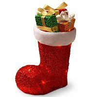 National Tree Company Christmas Stocking Table Decor