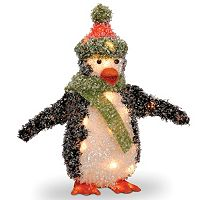 National Tree Company Penguin Christmas Table Decor