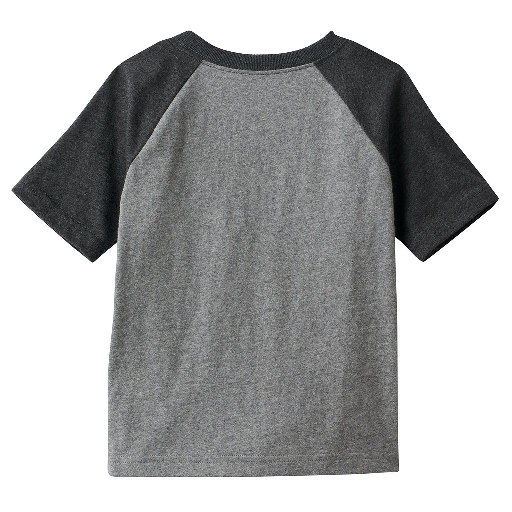 Toddler Boy Jumping Beans® Raglan Yoke Colorblock Tee