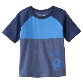 Toddler Boy Jumping Beans® Raglan Yoke Colorblock Tee