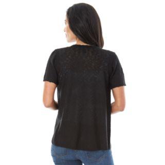 Women's AB Studio Short Sleeve Cardigan