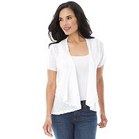 Women's AB Studio Short Sleeve Cardigan