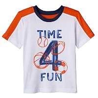 Toddler Boy Jumping Beans® Mesh Piecing Active Tee