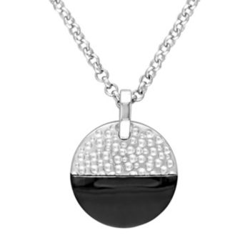 Stella Grace V19.69 Italia Two Tone Sterling Silver Moonlight Necklace