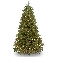 National Tree Company 7.5-ft. Jersey Fraser Medium Fir Pre-Lit Artificial Christmas Tree