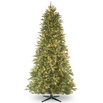 National Tree Company 7.5-ft. Pre-Lit Artificial Tiffany Fir Slim Christmas Tree