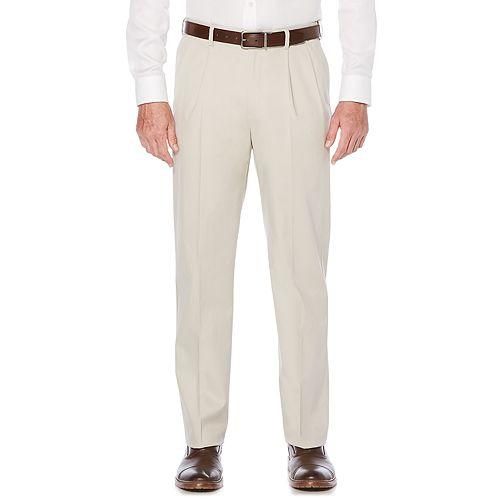 3057caebb362d Men s Savane Ultimate Straight-Fit Performance Pleated Chino Pants