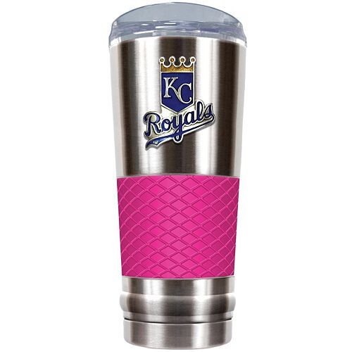 Kansas City Royals 24-Ounce Draft Stainless Steel Tumbler