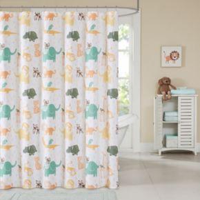 INK+IVY Kids Jacala Printed Shower Curtain