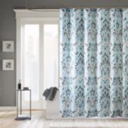 Madison Park Palerma Microfiber Shower Curtain