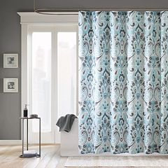Madison park shower curtains shower curtains accessories - Madison park bathroom accessories ...