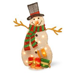 National Tree Company Christmas Snowman Floor Decor