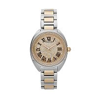 Croton Women's Austrian Crystal & Cubic Zirconia Stainless Steel Swiss Watch