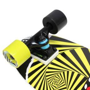 Vision 28-Inch Mini Cruiser Swirl Graphic Skateboard