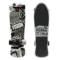 Vision 28-Inch Mini Cruiser Swirl Graphic Skateboard