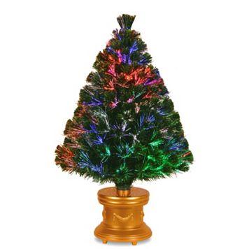 National Tree Company 36-in. Fiber Optic Evergreen Firework Artificial Christmas Tree