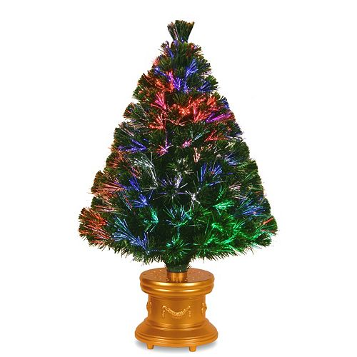3b11dadd89a5 National Tree Company 36-in. Fiber Optic Evergreen Firework Artificial ...