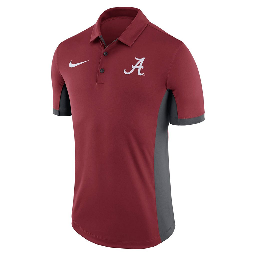 Men's Nike Alabama Crimson Tide Dri-FIT Polo