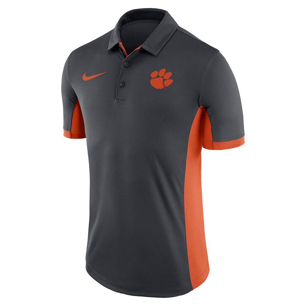 Men's Nike Clemson Tigers Dri-FIT Polo
