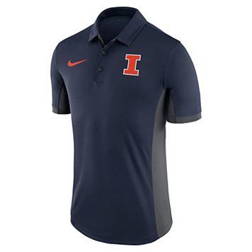 Men's Nike Illinois Fighting Illini Dri-FIT Polo