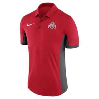 Men's Nike Ohio State Buckeyes Dri-FIT Polo