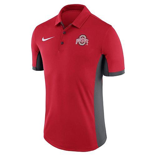 Men's Nike Ohio State Buckeyes Dri-FIT Polo