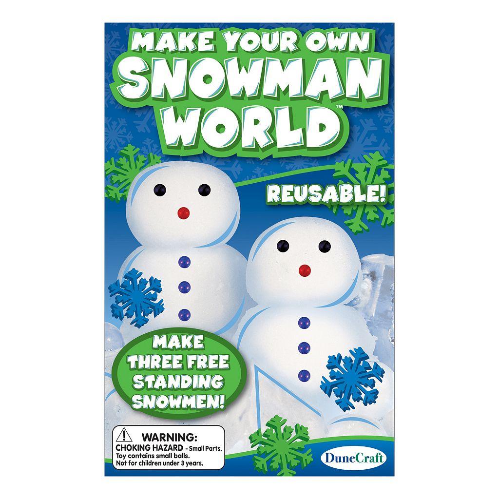 Dunecraft Make Your Own Snowman World Kit