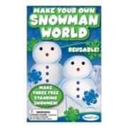 DuneCraft Make Your Own Snowman World Kit