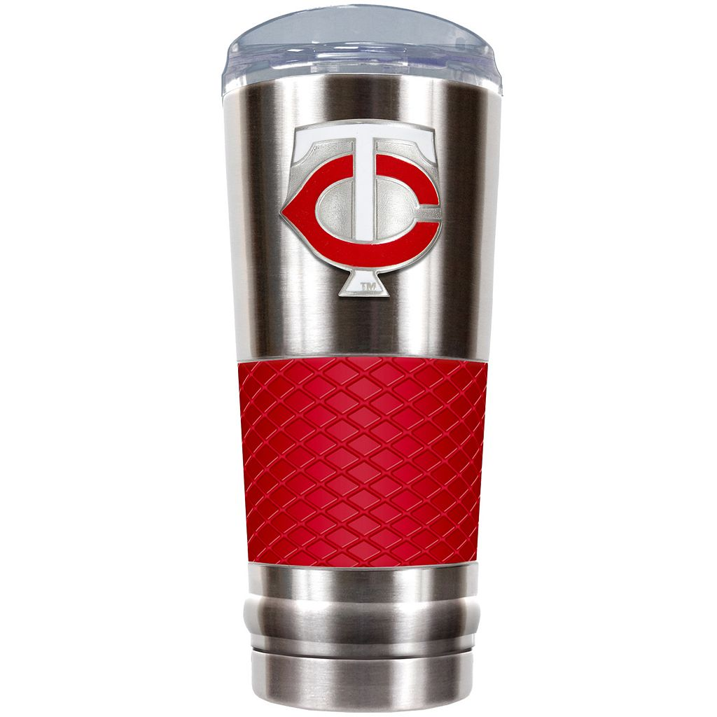 Minnesota Twins 24-Ounce Draft Stainless Steel Tumbler