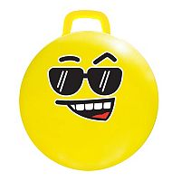 MegaFun USA #COOL Emoji Hop Jumping Ball