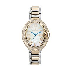 Croton Women's Austrian Crystal Stainless Steel Watch