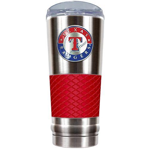 Texas Rangers 24-Ounce Draft Stainless Steel Tumbler