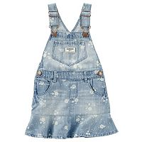 Toddler Girl OshKosh B'gosh® Denim Floral Print Peplum Jumper