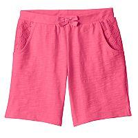 Girls 4-10 Jumping Beans® Slubbed Bermuda Shorts