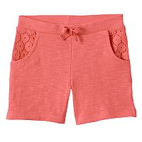 Girls 4-10 Jumping Beans® Slubbed Bermuda Shorts