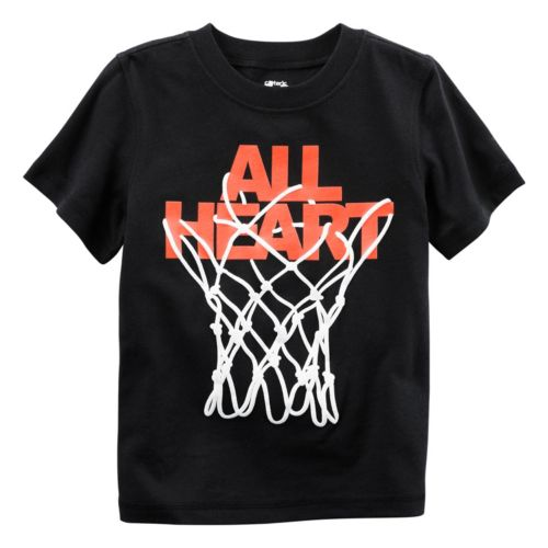 "Baby Boy Carter's ""All Heart"" Basketball Graphic Tee"