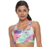 Women's Nike Victory Compression Chalk Dust Medium-Impact Sports Bra 832082