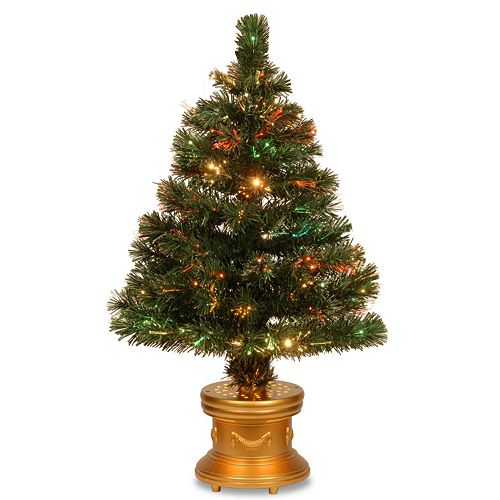 National Tree Company 3-ft. Fiber-Optic Artificial Christmas Tree Floor Decor