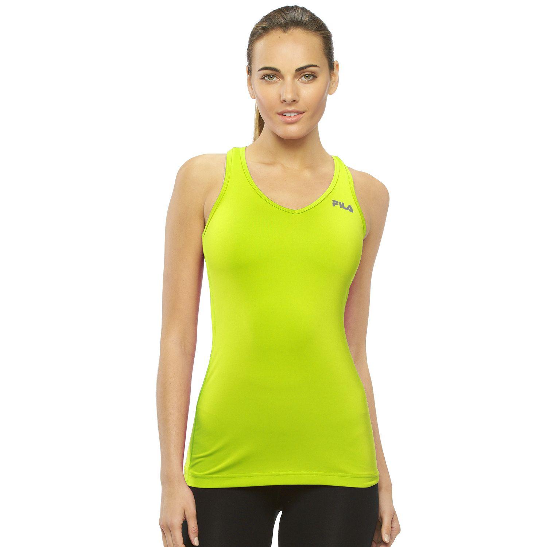 Womens FILA SPORT? Workout Racerback Tank