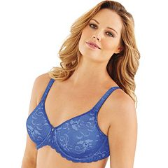 cd4e9b9f4d Lilyette Bra  Beautiful Support Lace Full-Figure Minimizer Bra 977 - Women s