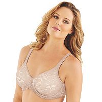 Lilyette Bras: Beautiful Support Lace Full-Figure Minimizer Bra LY0977