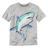 Baby Boy Carter's Short Sleeve Shark Graphic Tee