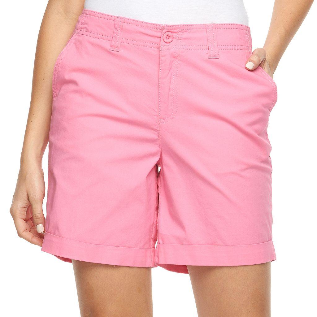 Women's Caribbean Joe Cuffed Shorts
