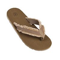 Men's Wembley Frayed Canvas Flip-Flops