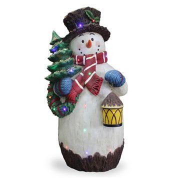 National Tree Company 36-in. Pre-Lit Snowman & Tree Christmas Decor