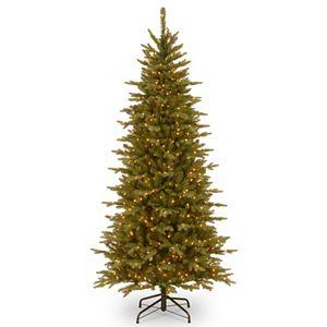 pre lit led multicolor dunhill fir artificial christmas tree 2 sale - Pre Lit Slim Christmas Tree
