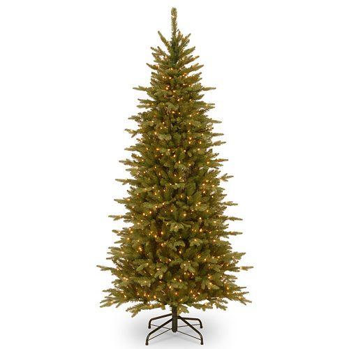 Pre Lit Christmas Tree Fuses: National Tree Company 7.5-ft. Pre-Lit Artificial Sierra