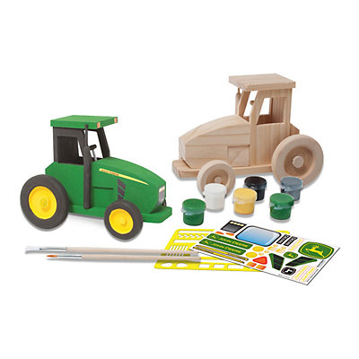 MasterPieces John Deere Tractor Wood Painting Kit