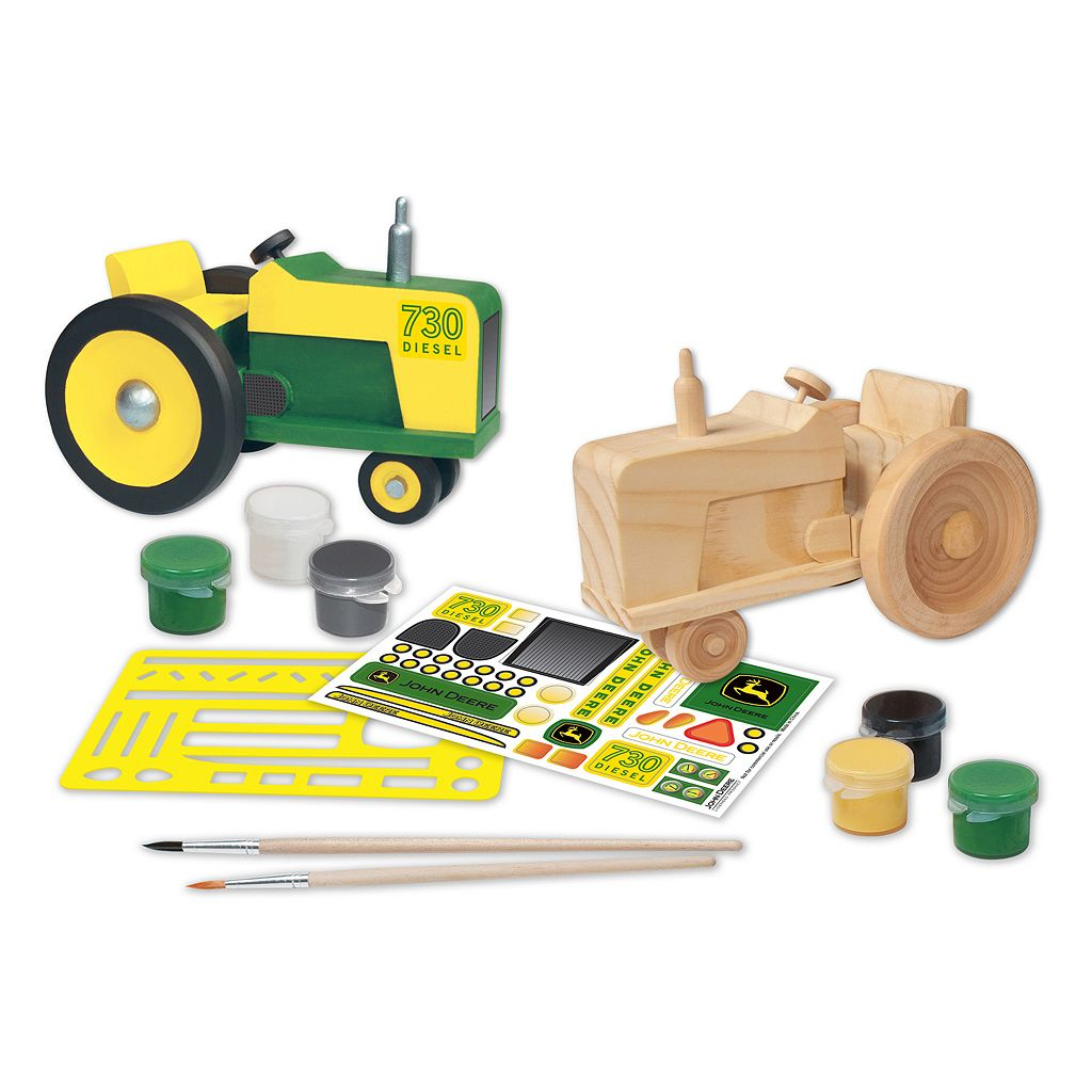 Masterpieces Puzzle John Deere Classic Tractor Wood Painting Kit