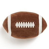 Jumping Beans Football Throw Pillow
